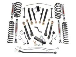 Rough Country 6 in. X-Series Suspension Lift kit w/ Shocks (97-06 Wrangler TJ)