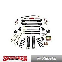 SkyJacker 8 In. Rock Ready Long Arm, Suspension System (97-02 Wrangler TJ) - SkyJacker TJ801K-DX