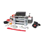 Rough Country 9500lb. Electric Winch w/ Wire Rope & Free Wireless Remote (Universal Application) - Rough Country RS9500