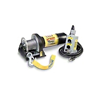 Superwinch AC1000 115 Volt AC Winch Rated Line Pull Of 1,000 lbs../450 kgs., With Freespooling (Universal Application) - Superwinch 1406
