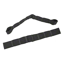 Rugged Ridge Adjustable Door Straps (87-06 Wrangler YJ & TJ) - Rugged Ridge 12103.01