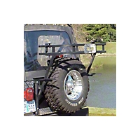Warrior Products Adventure Rack w/ or w/o Fixed Mount Tire Carrier (97-06 Wrangler TJ) - Warrior Products 834
