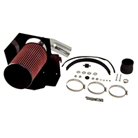 Rugged Ridge Air Intake Kit, Polished Aluminum (07-11 Wrangler JK w/3.8L) - Rugged Ridge 17750.06