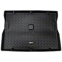 Rugged Ridge All Terrain Cargo Liner, Black (87-95 Wrangler YJ) - Rugged Ridge 12975.22