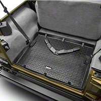 Rugged Ridge All Terrain Cargo Liner, Black (97-06 Wrangler TJ) - Rugged Ridge 12975.11
