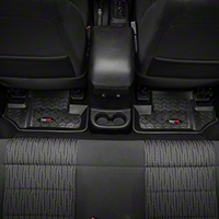 Rugged Ridge All Terrain Floor Liner - 2nd Row, Black (07-13 Wrangler JK 2 Door) - Rugged Ridge 12950.02