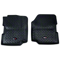 Rugged Ridge All Terrain Floor Liner - Front Pair, Black (87-95 Wrangler YJ) - Rugged Ridge 12920.21