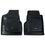 Rugged Ridge All Terrain Floor Liner - Front Pair, Black (97-06 Wrangler TJ) - Rugged Ridge 12920.11