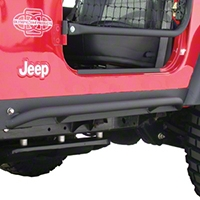 Olympic 4x4 All Terrain Slider Rock Rails (97-06 Wrangler TJ) - Olympic 4x4 121-121