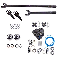 Alloy USA Precision Gear Dana 30 Grande 30/30 Spline Kit w/ ARB Air Locker (92-06 Wrangler YJ & TJ) - Alloy USA 12232-ARB