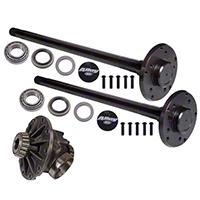 Alloy USA Rear Axle Kit Dana 44 Grande 33-Spline Kit w/ Detroit Locker (97-06 Wrangler TJ) - Alloy USA 12136-DET
