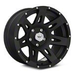 Rugged Ridge Aluminum Wheel, 17x9, Satin Black, 5x5 (07-13 Wrangler JK) - Rugged Ridge 15301.01