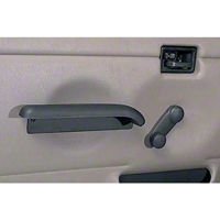 Rugged Ridge Arm Rest w/ Full Hard Doors (97-06 Wrangler TJ) - Rugged Ridge 11830.02