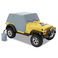 Bestop All Weather Trail Cover w/ Stuff Sack (97-06 Wrangler TJ) - Bestop 81037-09