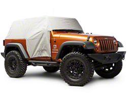 Bestop Gray Trail Cover w/ Storage Sack (07-16 Wrangler JK 2 Door)