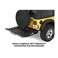 Bestop HighRock 4x4 Tray Bracket Kit For 42904 Slideaway (97-06 Wrangler TJ) - Bestop 42907-01