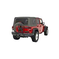 Bestop Oversize Tire Carrier (07-15 Wrangler JK) - Bestop 61961-01