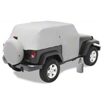 Bestop Trail Cover, Gray (04-06 Wrangler TJ Unlimited) - Bestop 81038-09