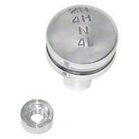 Rugged Ridge Billet Transfer Case Knob (87-95 Wrangler YJ) - Rugged Ridge 11420.24