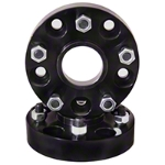 Rugged Ridge Black 1.5 in. Wheel Spacer 5x4.5 to 5x5.5 (87-06 Wrangler YJ & TJ) - Rugged Ridge 15201.08