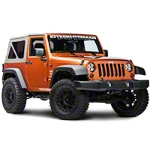 Rugged Ridge Black 10 Piece Euro Guard Light Kit w/ Fog Lights (07-14 Wrangler JK) - Rugged Ridge 12496.02||12496.02