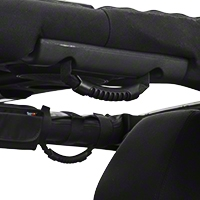 Rugged Ridge Black 9 Piece Interior Roll Bar Trim Kit (07-15 Wrangler JK) - Rugged Ridge 12496.01