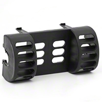 Rugged Ridge Black AC Vent Switch Pod (97-06 Wrangler TJ) - Rugged Ridge 17235.5