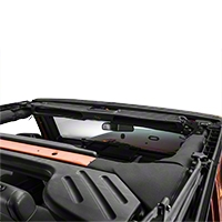 Rugged Ridge Composite Overhead Storage Console, Black (87-15 Wrangler YJ, TJ & JK) - Rugged Ridge 13551.14