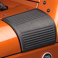 Rugged Ridge Black Cowl Body Armor - Pair (07-14 Wrangler JK) - Rugged Ridge 11651.18||11651.18