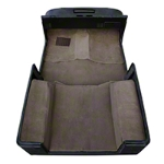 Rugged Ridge Deluxe Complete Carpet Kit -  Black (87-95 Wrangler YJ) - Rugged Ridge 13690.01