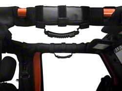 Rugged Ridge Enhanced Deluxe Grab Bar Handles For 2-3 inch Roll Bars, Black