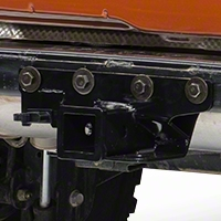 Rugged Ridge Black Hitch Kit 2000-3500lbs. (07-13 Wrangler JK) - Rugged Ridge 11580.51