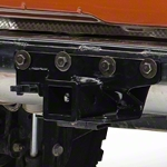 Rugged Ridge Black Hitch Kit 2000-3500lbs. (07-14 Wrangler JK) - Rugged Ridge 11580.51||11580.51