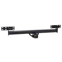 Rugged Ridge Black Rear Hitch for Omix Rear Tube Bumpers (87-06 Wrangler YJ & TJ) - Rugged Ridge 11580.02