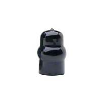 Curt Manufacturing Black Rubber Hitch Ball Cover (Universal Application) - Curt Manufacturing F-8