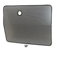 Rugged Ridge Bug Screen, Black (87-95 Wrangler YJ) - Rugged Ridge 7615