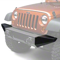 Rugged Ridge Bumper Ends w/ Xtreme Heavy Duty Bumper (07-13 Wrangler JK) - Rugged Ridge 11540.12