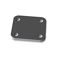 OK Offroad Bumper Shackle Mount Backing Plate - Single (07-13 Wrangler JK) - OK Offroad OK-BSM003