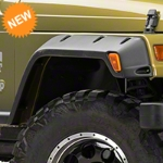 Bushwacker Pocket Style Fender Flares, Set for 6 in. Flare (97-06 Wrangler TJ) - Bushwacker 10908-07