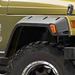 Bushwacker Pocket Style Fender Flares, Set for 6 in. Flare (97-06 Wrangler TJ) - Bushwacker 10908-07