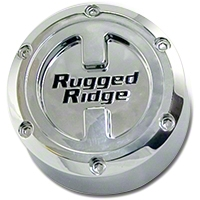 Rugged Ridge Center Cap For 17X9 Aluminum Wheels (07-10 Wrangler Jk) - Rugged Ridge 15201.5