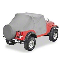 Bestop Charcoal Gray Trail cover (87-91 Wrangler YJ) - Bestop 81035-09
