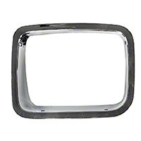 Omix-ADA Chrome Headlight Bezel Driver Side (87-95 Wrangler YJ) - Omix-ADA 12419.21