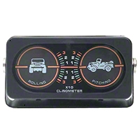 Rugged Ridge Clinometer w/Jeep Graphic (Universal Application) - Rugged Ridge 791005