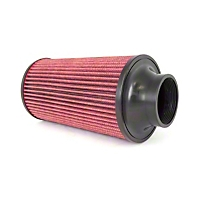 Rugged Ridge Conical Air Filter Synthetic 77mm Flange 270mm Length for Cold Air Kits (91-11 Wrangler YJ, TJ & JK) - Rugged Ridge 17753.01