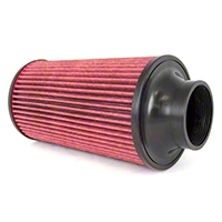 Rugged Ridge Conical Air Filter Synthetic 89mm Flange 152mm Length for Cold Air Kits (91-95 Wrangler YJ w/4.0L) - Rugged Ridge 17753.04