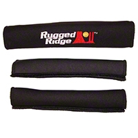 Rugged Ridge Cover Kit Grab 3 Pieces Rear, Black (87-95 Wrangler YJ) - Rugged Ridge 13305.5