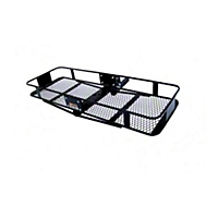 Curt Manufacturing Cargo Hitch Basket Folding (Universal Application) - Curt Manufacturing 18131