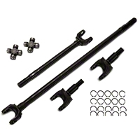 Alloy USA Dana 30 Front Axle Kit, 27 Spline (07-15 Wrangler JK) - Alloy USA 12152