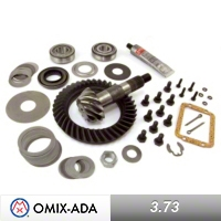 Omix-ADA DANA 30 Front w/ Disconnect, Ring & Pinion Kit, 3.73 Ratio (41x11 Teeth) (87-95 Wrangler YJ) - Omix-ADA 16513.22